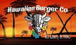 HAWAIIAN BURGER CO. Logo